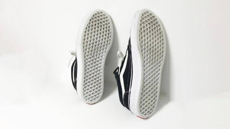 バンズファルケンを3ヶ月使用した靴底写真