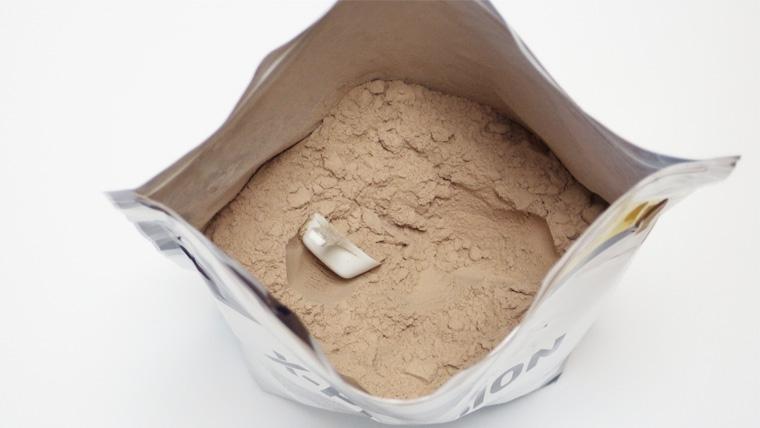 エクスプロージョンミルクチョコレートプロテインの中身