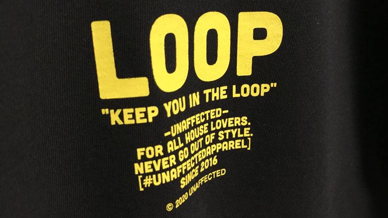 loopブラックイエローバック
