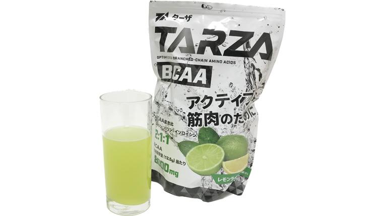 TARZA(ターザ)レモンライムの使用例