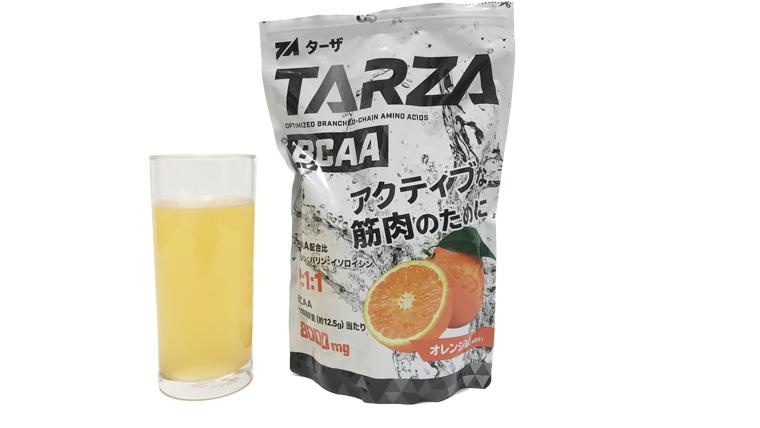 TARZA(ターザ)BCAA新味オレンジ味レビュー