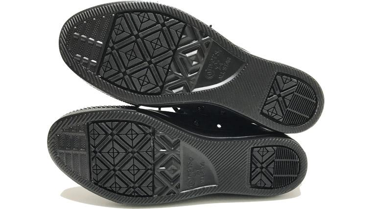 コンバースオールスターライトの靴底は滑りにくい