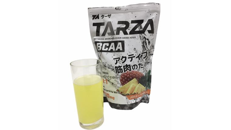 ターザbcaaパイナップル味は夏におすすめ